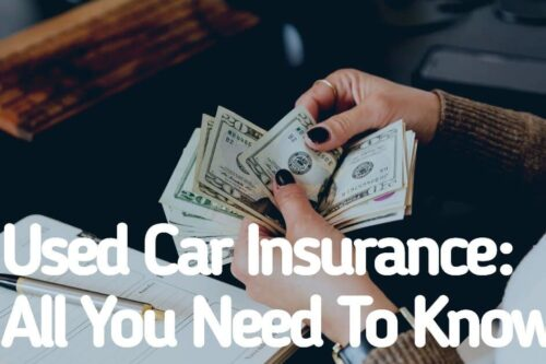 Used Car Insurance