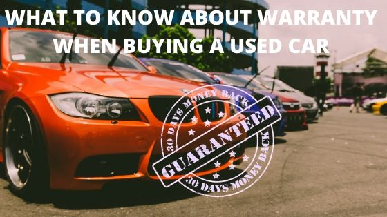 Warranty When Buying A Used Car