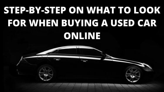 What to look for when buying a used car online